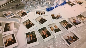 holiday photo booth office party