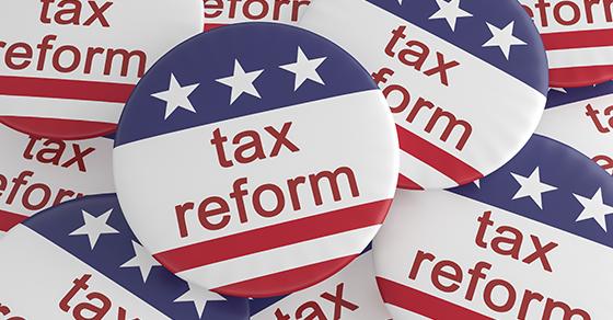 GOP Trump Tax Reform Plan Image