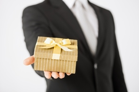 Receive tax breaks while showing your holiday spirit with gifts and parties