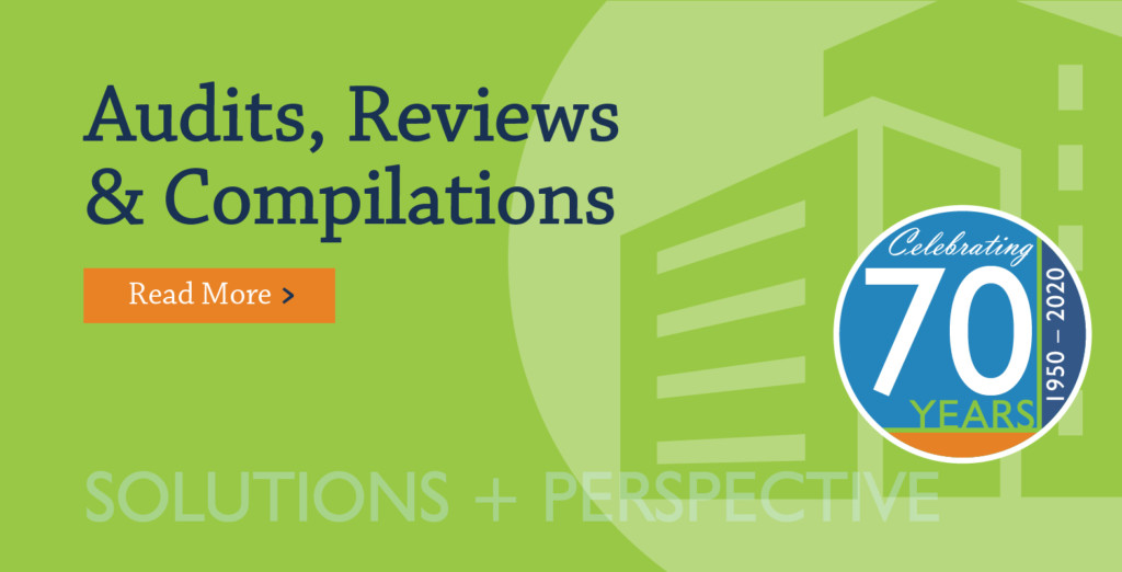 Audits, Reviews, & Compilations