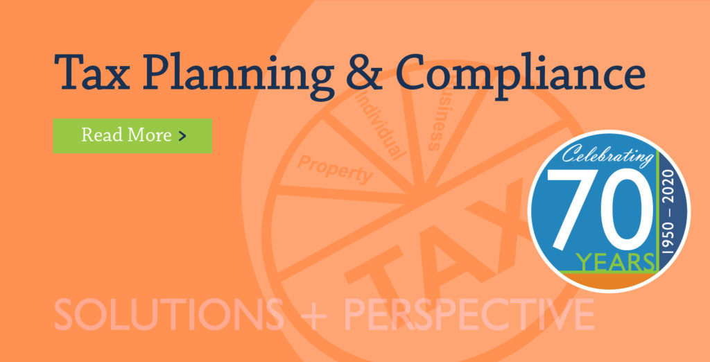 Tax Planning & Compliance